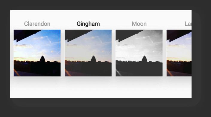 Instagram grid effects