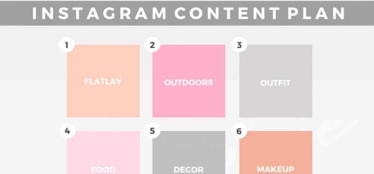 Instagram Grid Planning