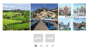 Instagram Carousel feed on WordPress website - Inspiration