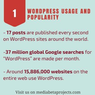 Do you know these numbers and statistics about #wordpress usage? What do you think? 17 posts every seconds!!! Visit our website to know the #infographic http://ow.ly/fXJb308bYb9 #people #love #wordpress #plugin #wordpresslover #wordpressblog #wordpressblogger #webdevelopment #coupon #wpmb FOR YOU