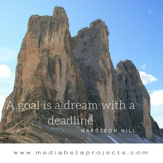 """""""A goal is a dream with a deadline"""" - Napoleon Hill #visionary #poetry #photographer #artist #webdevelopment http://ow.ly/xqlR303UqdJ"""