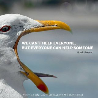 """""""We can't help everyone, but everyone can help someone"""" #Reagan #people #togetherisbetter #team #teambuilding --- #friends #instaday #instagood #love --- #wordpress #wpplugin #wordpresslover #wordpressblog #wordpressblogger #webdevelopment ----"""