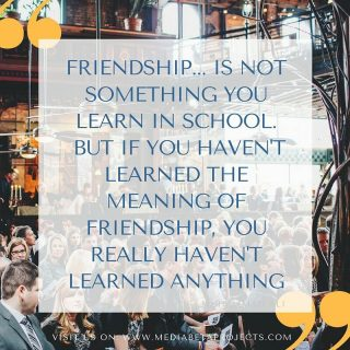 Friendship... is not something you learn in school. But if you haven't learned the meaning of friendship, you really haven't learning anything. #party #photographers #people #love #partyblogger #wordpress #plugin #wordpresslover #wordpressblog #wordpressblogger #webdevelopment #picsoftheday #friends #pmb