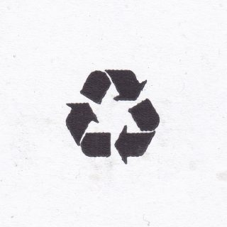 Recycling symbol kerbside_collection is the study of beautiful and often overlooked graphics found amongst debris on the street #founddesign #graphics #graphicdesigner #graphicdesign #designinspiration #designdetails #printdetail #printspotters #recycle #printdesign #infographic #unintentionalart #informationdesign #printisntdead #accidentalart #diydesign #designeverywhere #visualgraphic #itsnicethat #creativereview